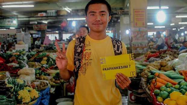Kampanye Sosial #mainkepasar dukung Pedagang Pasar Tradisional